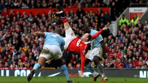 Wayne Rooney Manchester United City Feb 2011