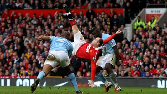 Wayne Rooney Manchester United City Feb 2011