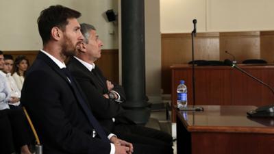 HD Lionel Messi court