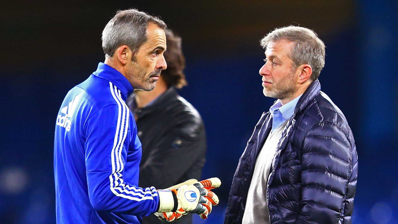 Christophe Lollichon with Roman Abramovich