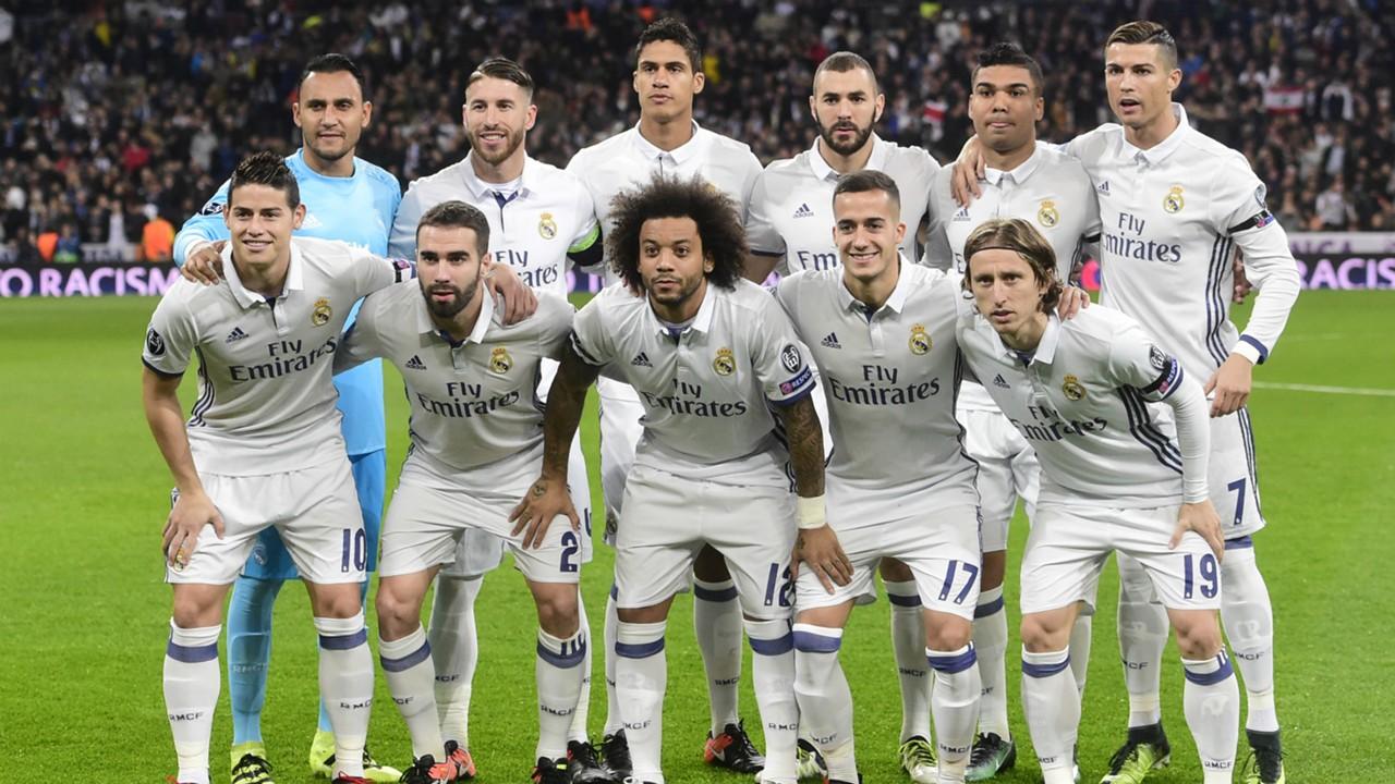 HD Real Madrid squad