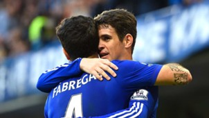 Oscar and Fabregas