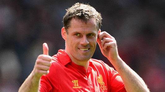 Neville's Liverpool XI Jamie Carragher