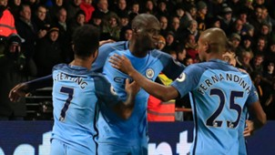 Yaya Toure Hull City Manchester City
