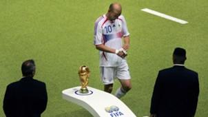 Zinedine Zidane France Italy 2006 World Cup final