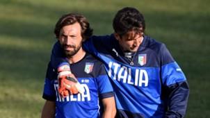 Andrea Pirlo Gianluigi Buffon Italy