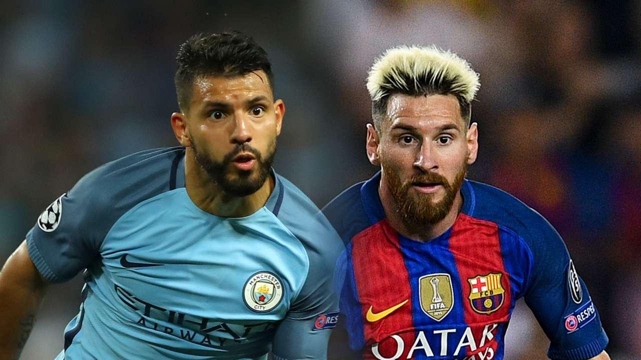 Sergio Aguero, Lionel Messi split