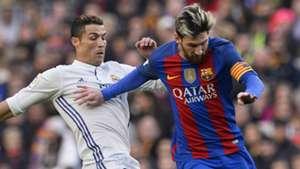 Cristiano Ronaldo Lionel Messi Real Madrid Barcelona 2016