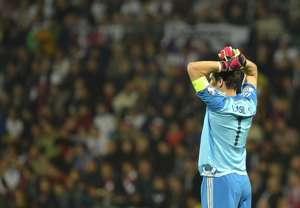 Iker Casillas Spain Slovakia Euro 2016 qualifier 091014
