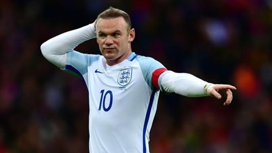 Wayne Rooney England v Portugal 020616