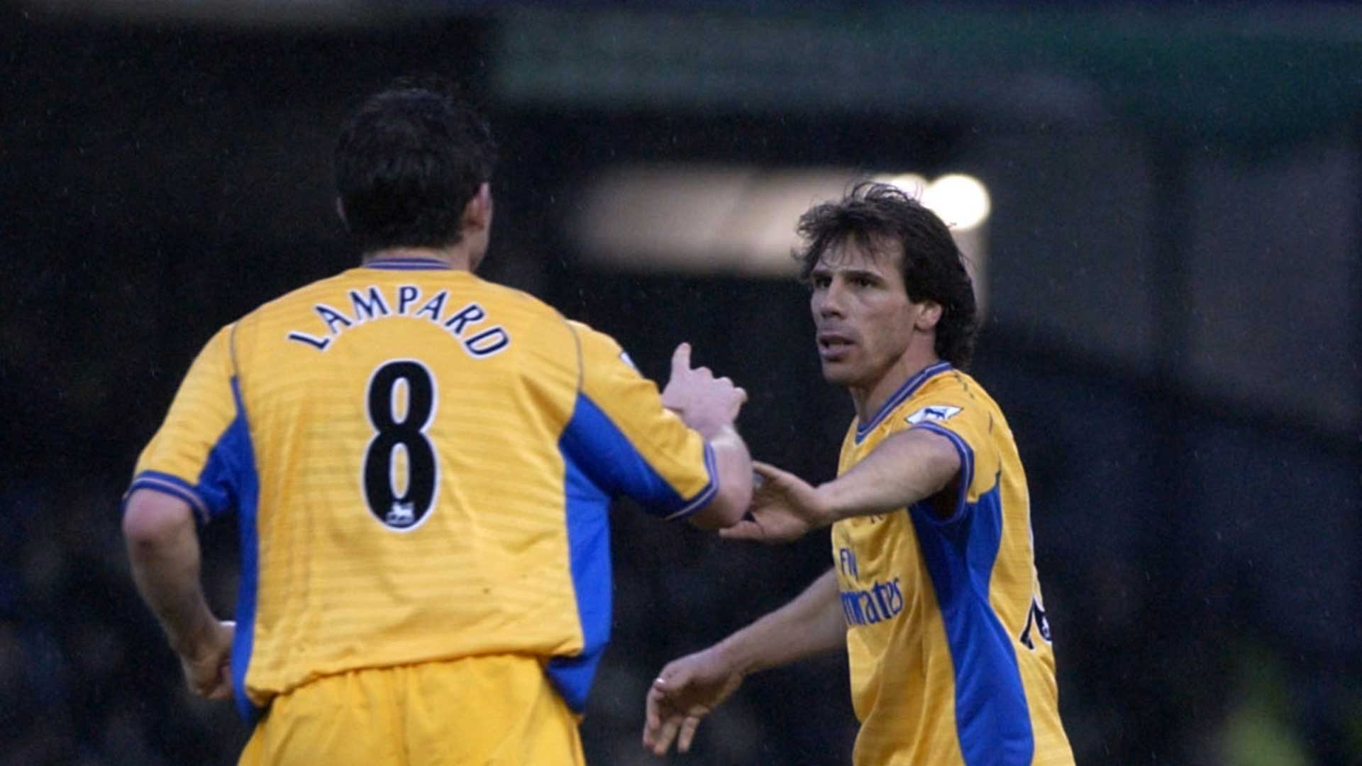 Gianfranco Zola and Frank Lampard
