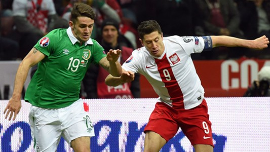 Robbie Brady Republic of Ireland; Robert Lewandowski Poland