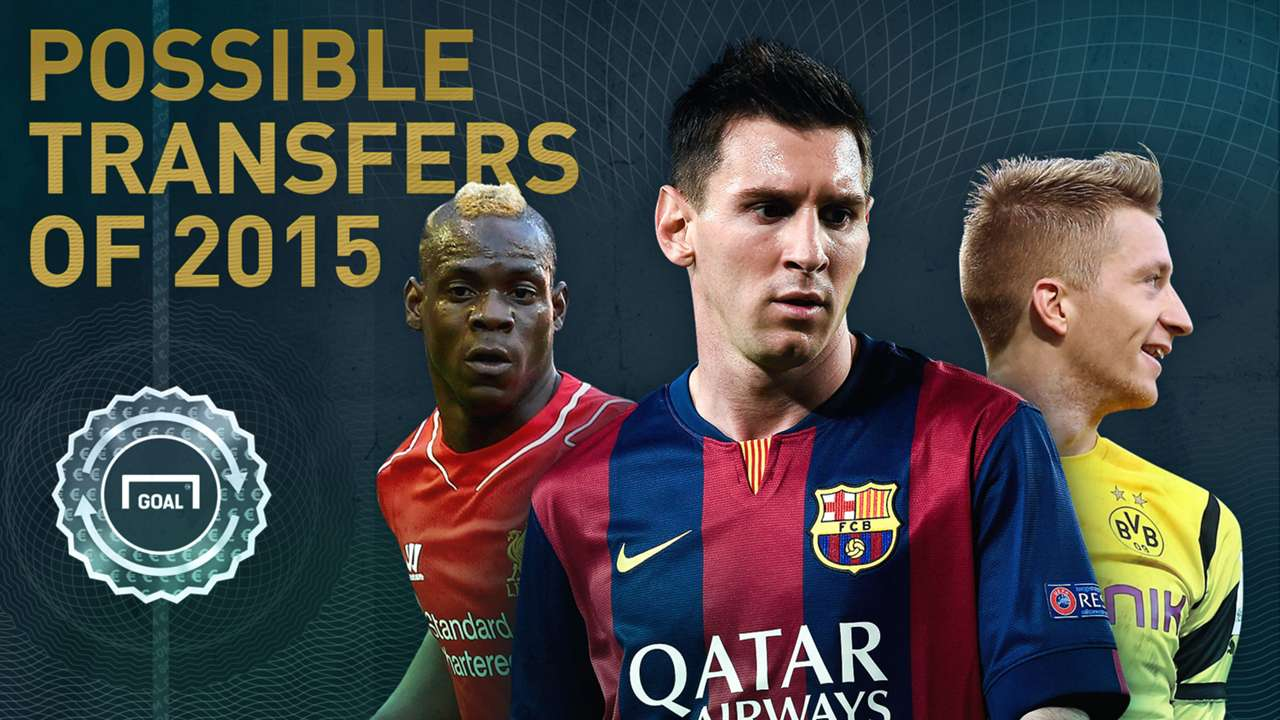 The biggest possible transfers in 2015