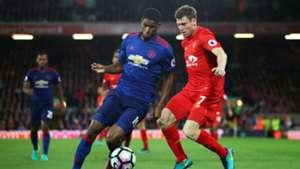 Marcus Rashford Premier League Liverpool v Manchester United 17101