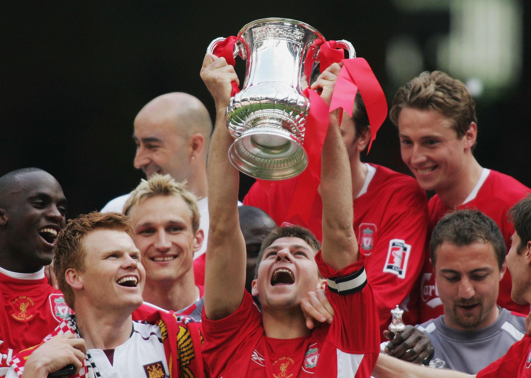 Steven Gerrard Liverpool FA Cup 13052006