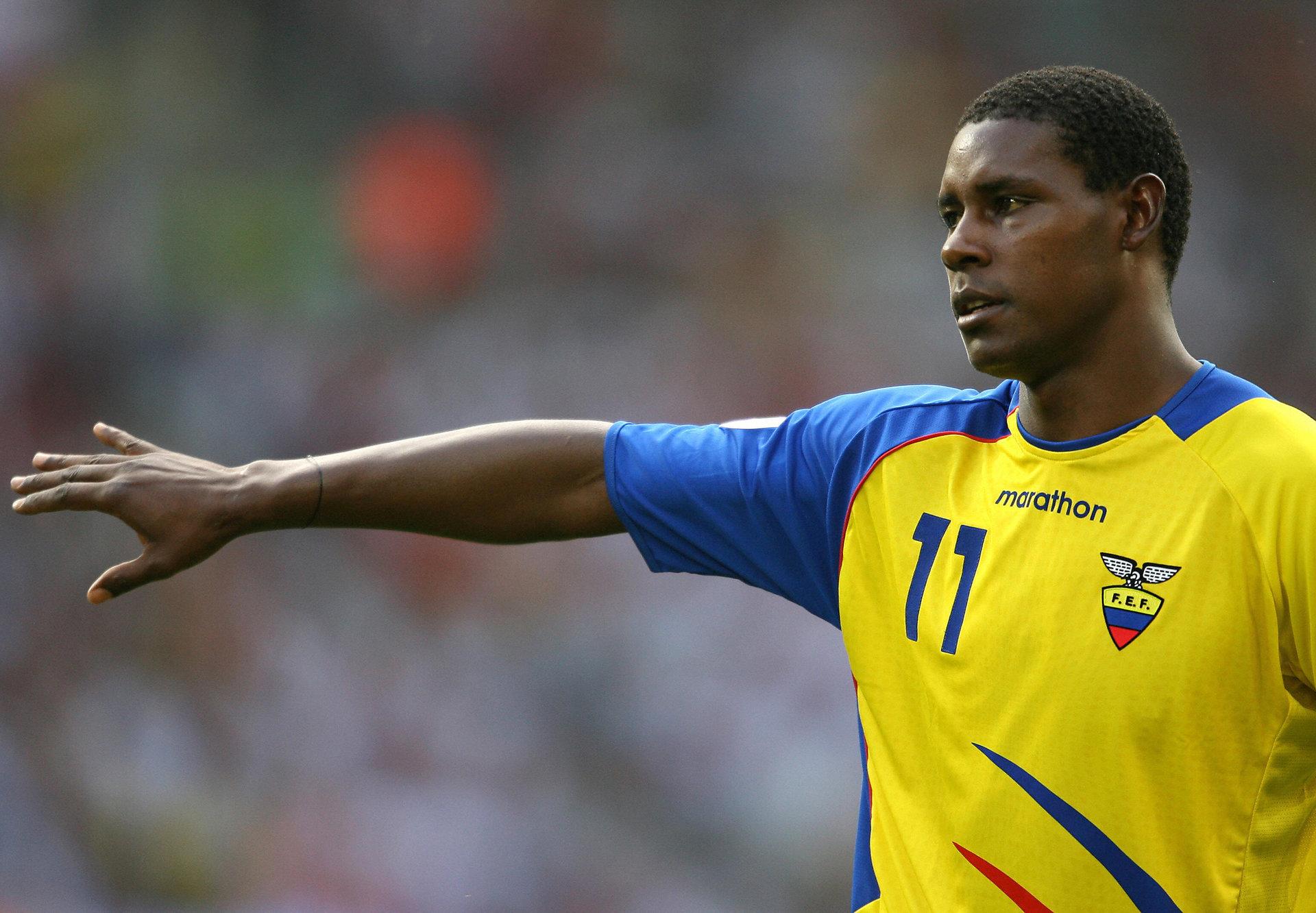 Agustin Delgado Ecuador 2006 World Cup