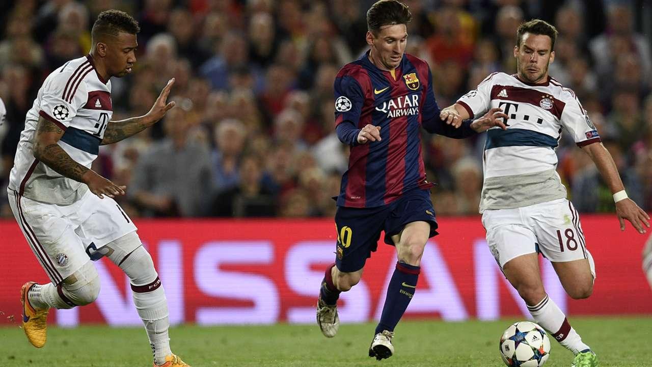 Lionel Messi Barcelona Bayern Munich Champions League