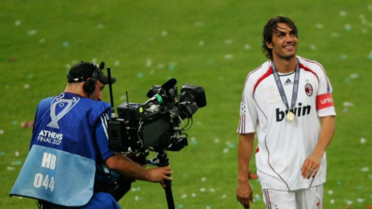 Paolo Maldini AC Milan Champions League final 2007