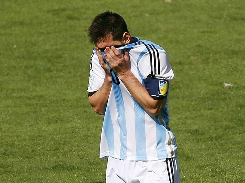 Grupo F: Messi garante classificação da Argentina