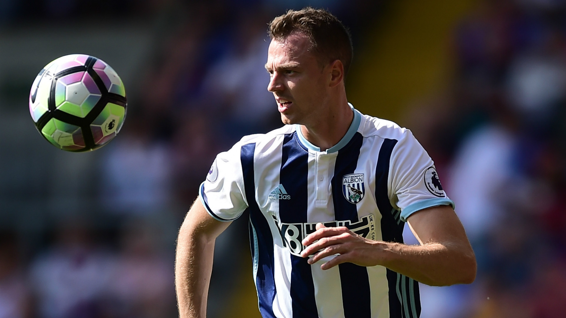 Jonny Evans West Brom Premier League