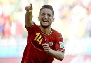 Dries Mertens Algeria Belgium 2014 World Cup Group H 17062014