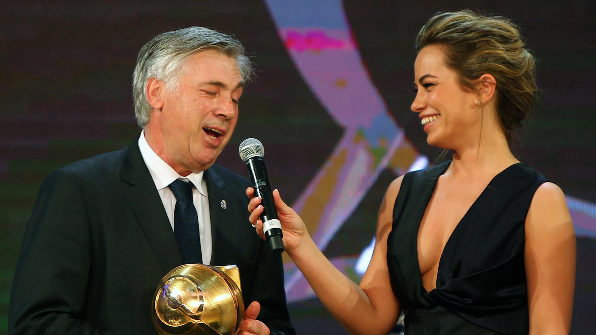 Carlo Ancelotti Globe Soccer Awards 2014