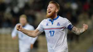 Aron Gunnarsson Iceland