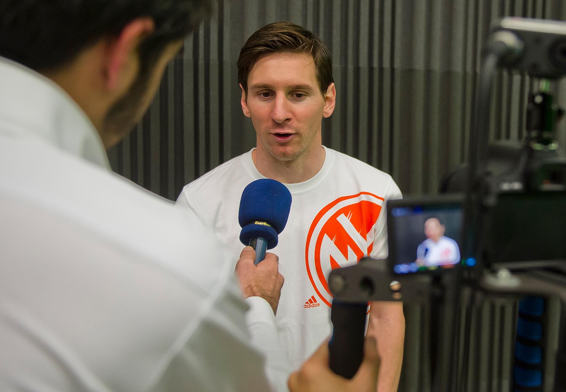 Lionel Messi Interview Ignasi Goal 50