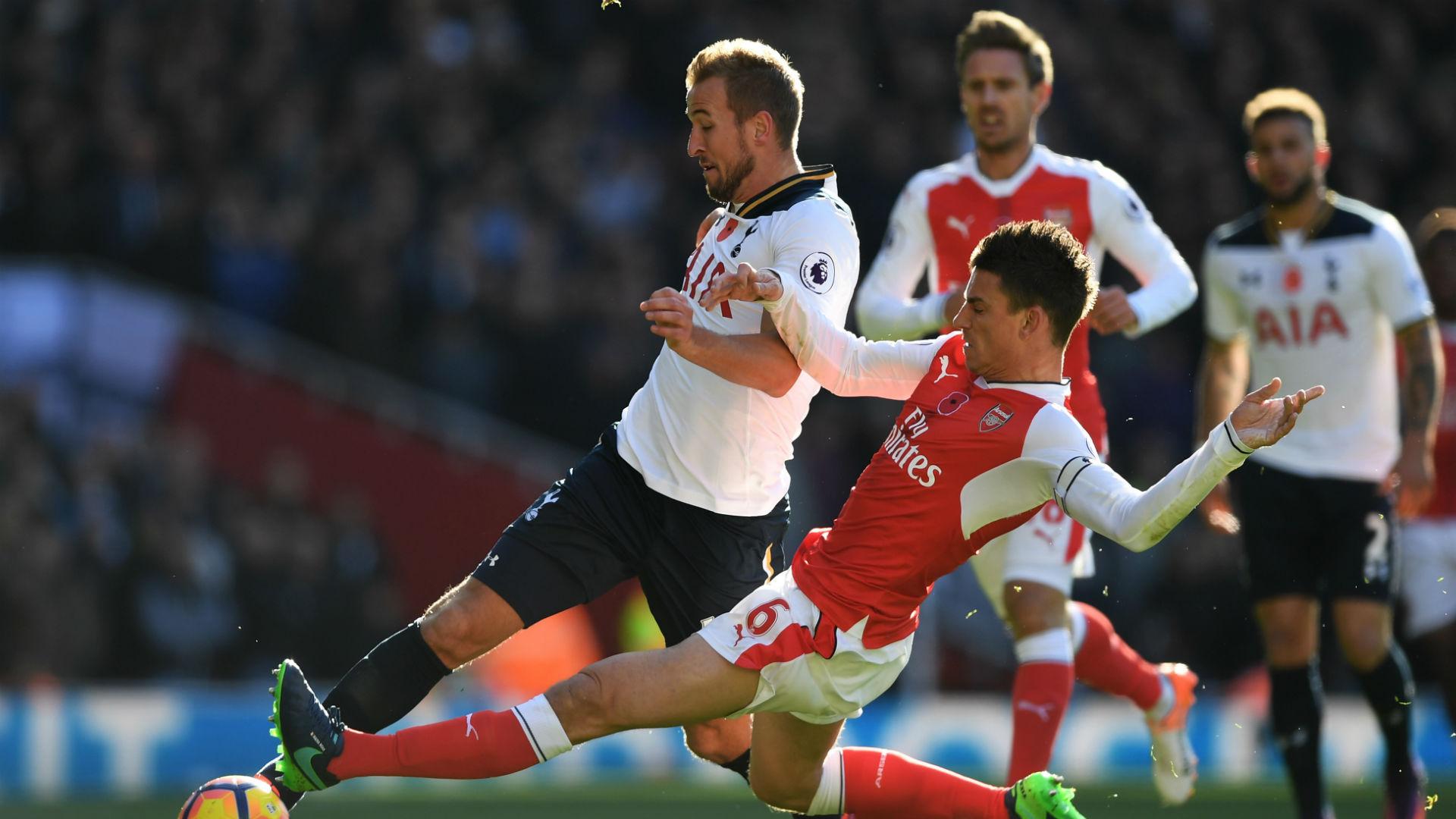 Harry Kane Premier League Arsenal v Tottenham 06116