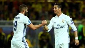 Cristiano Ronaldo Karim Benzema Real Madrid