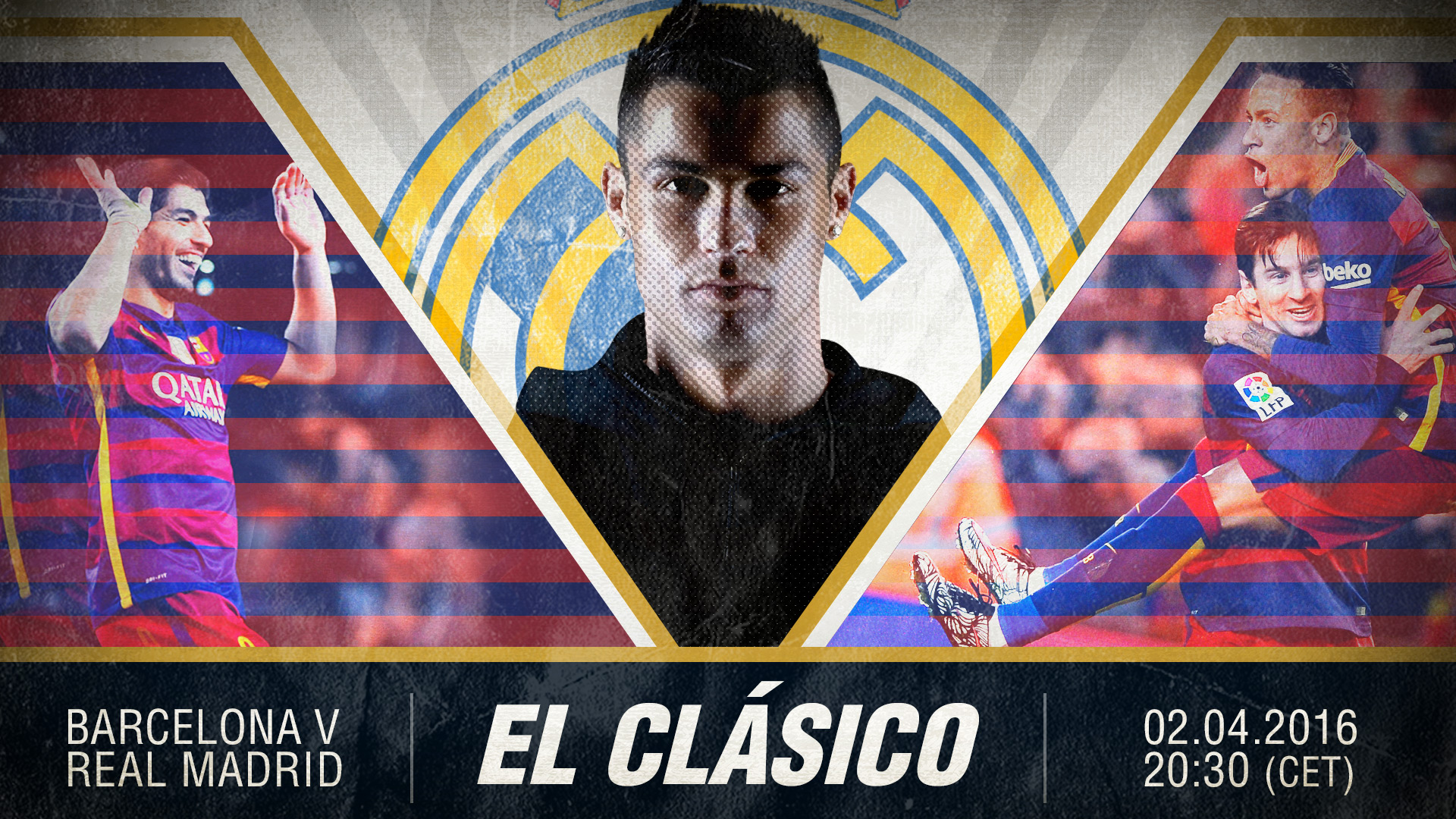 Barcelona Real Madrid El Clasico Goalcom