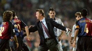 Louis van Gaal Barcelona Real Madrid 13101999
