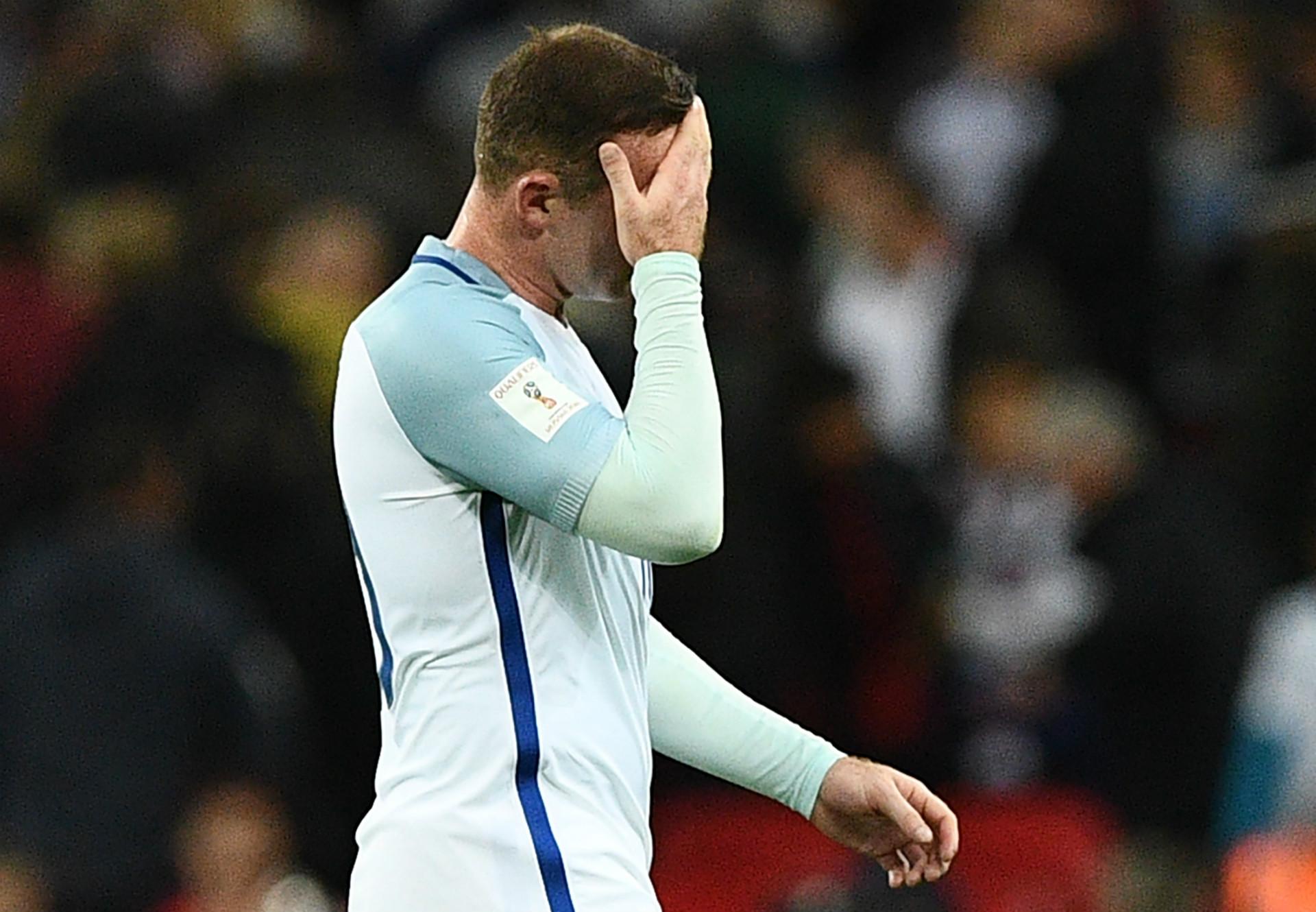 Wayne Rooney England Manchester United 2016