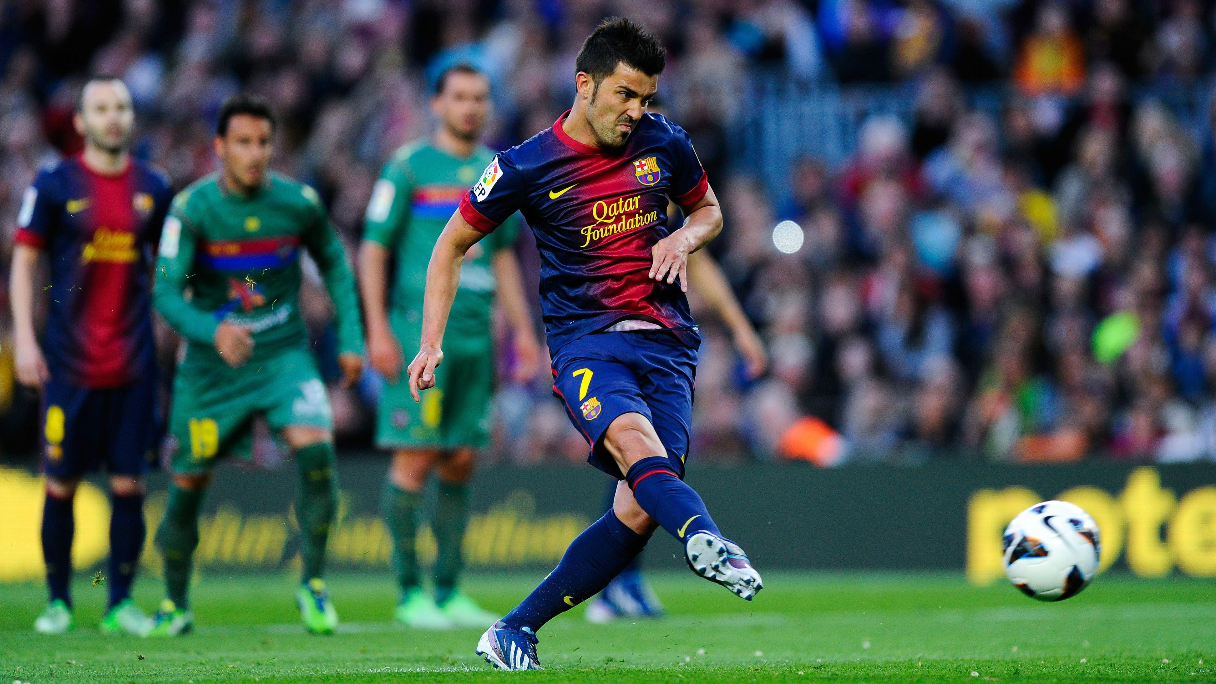 David Villa Barcelona Levante