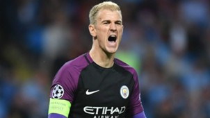 Joe Hart Manchester City Champions League