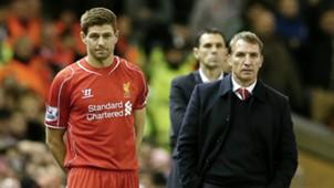 HD Steven Gerrard Brendan Rodgers Liverpool