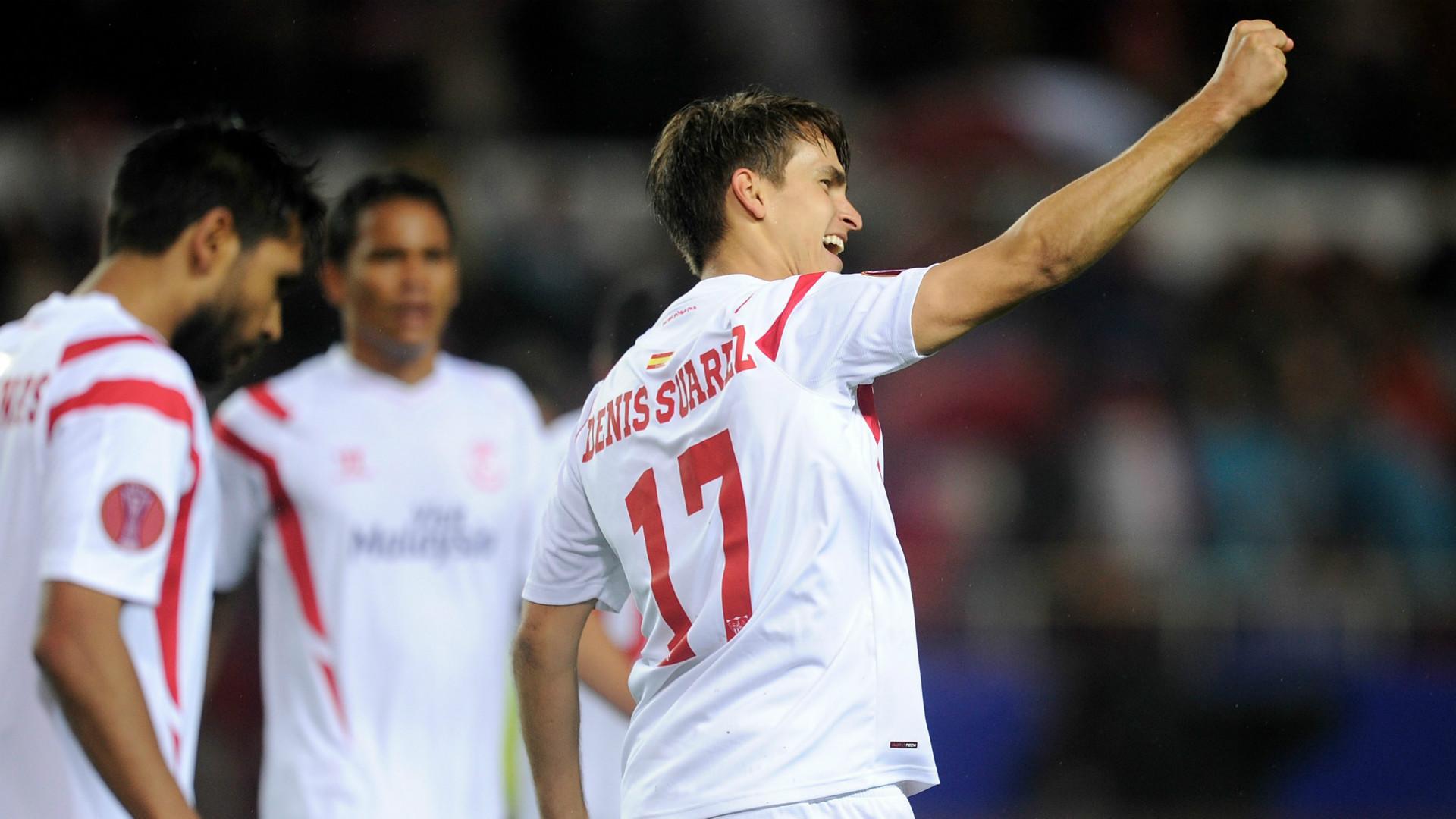 Denis Suarez Sevilla Europa League
