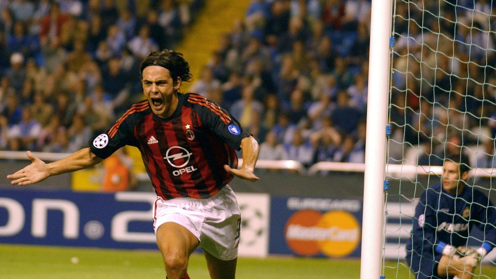 Filippo Inzaghi AC Milan - Goal.com