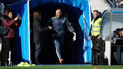 Zinedine Zidane Real Madrid Training