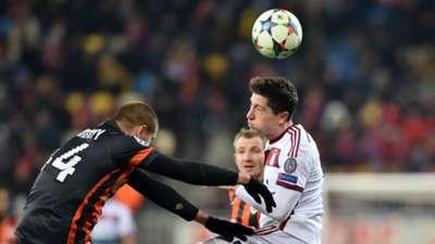 Robert Lewandowski Bayern Munich Shakhtar Donetsk 17022015