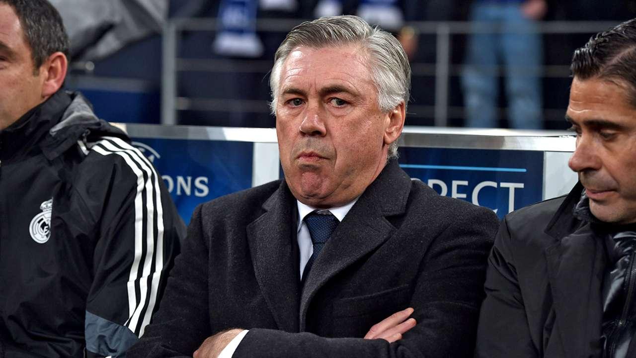 Carlo Ancelotti Real Madrid Schalke 04 Champions League 18022015
