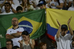 Chapecoense tribute Colombia 30112016