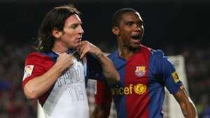 10 Lionel Messi Eto'o Barcelona Real Madrid 2007