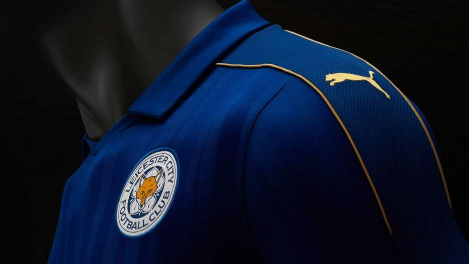 Leicester City 2016-17 kit