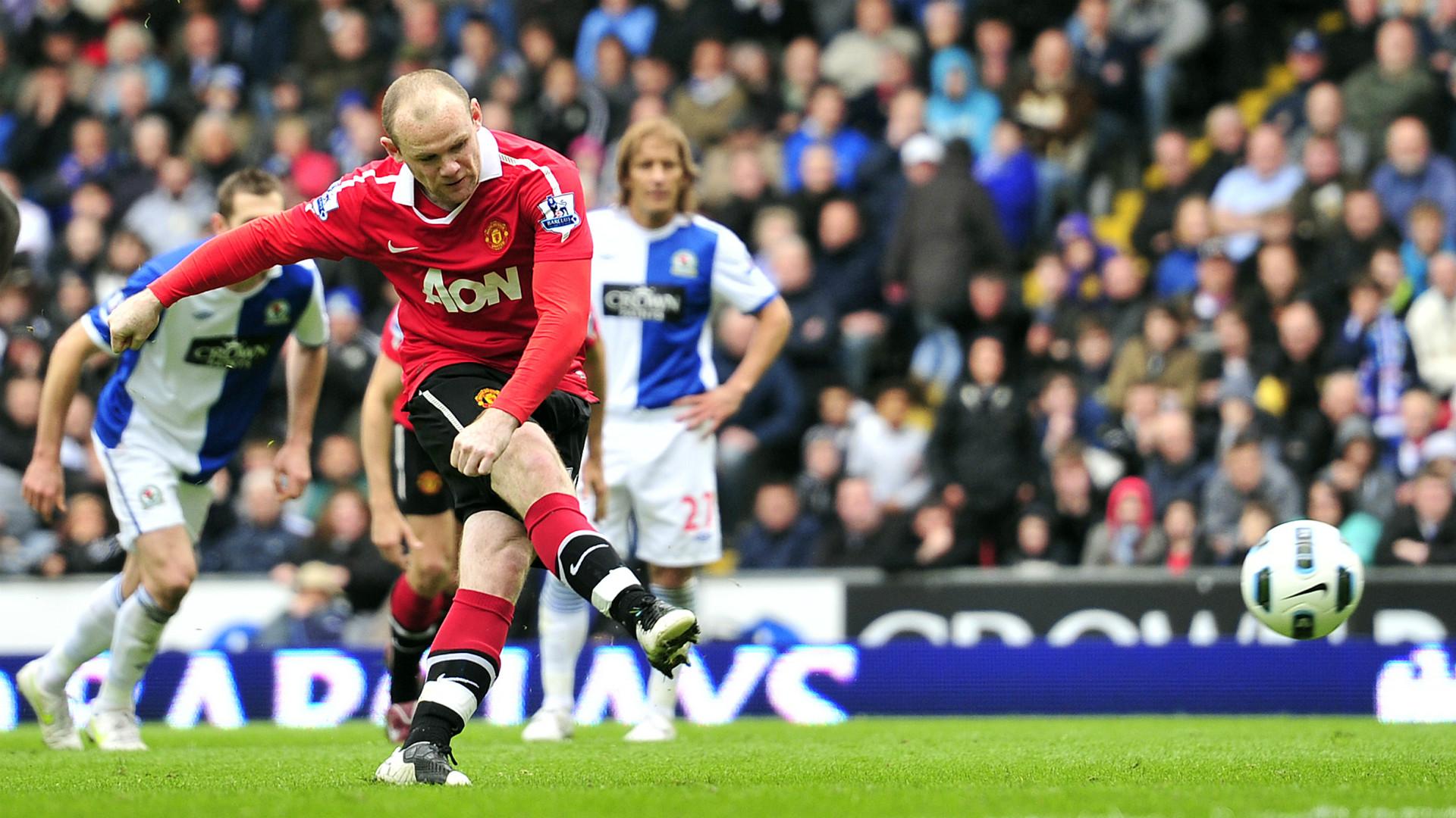 Wayne Rooney Manchester United Blackbun May 2011