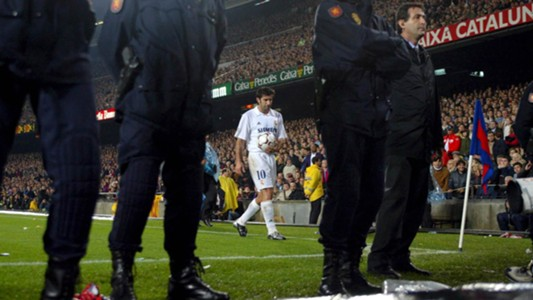 Luis Figo Real Madrid Barcelona