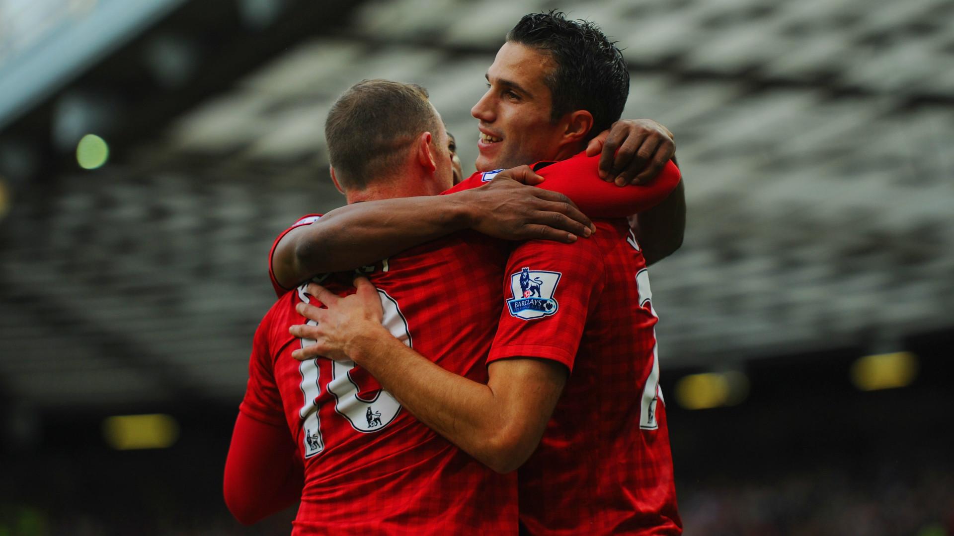 Wayne Rooney Manchester United Robin van Persie 2012-13