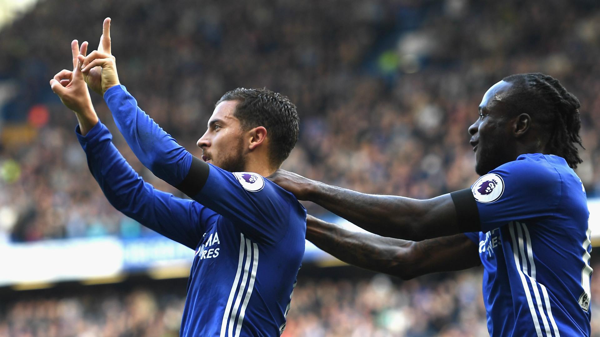Chelsea Stars Diego Costa & Eden Hazard Dedicate Goals To