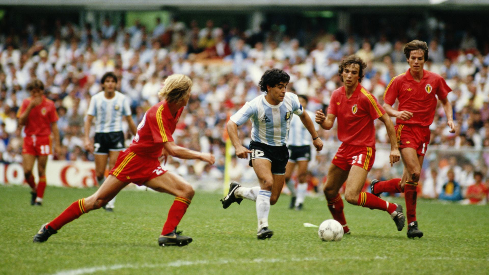 Maradona Belgium 86