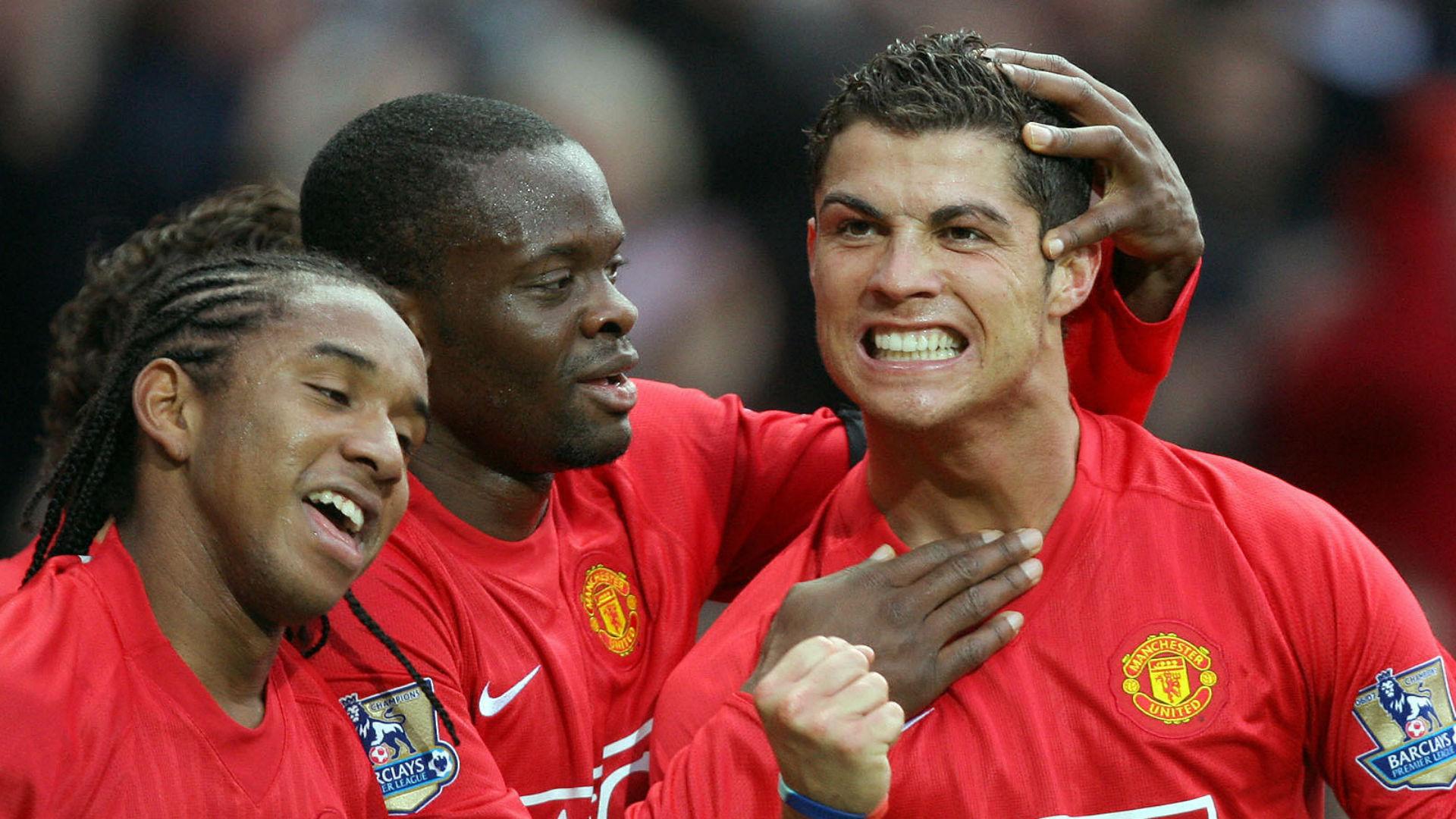 Louis Saha Cristiano Ronaldo